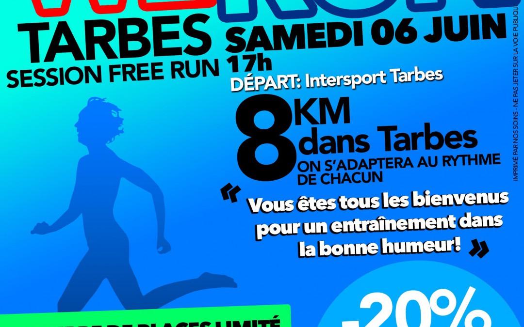 We Run 8km – Tarbes le 6 juin – Ligue contre le cancer