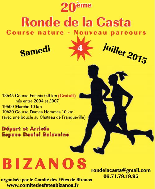 Ronde de la Casta – 4 juillet Bizanos