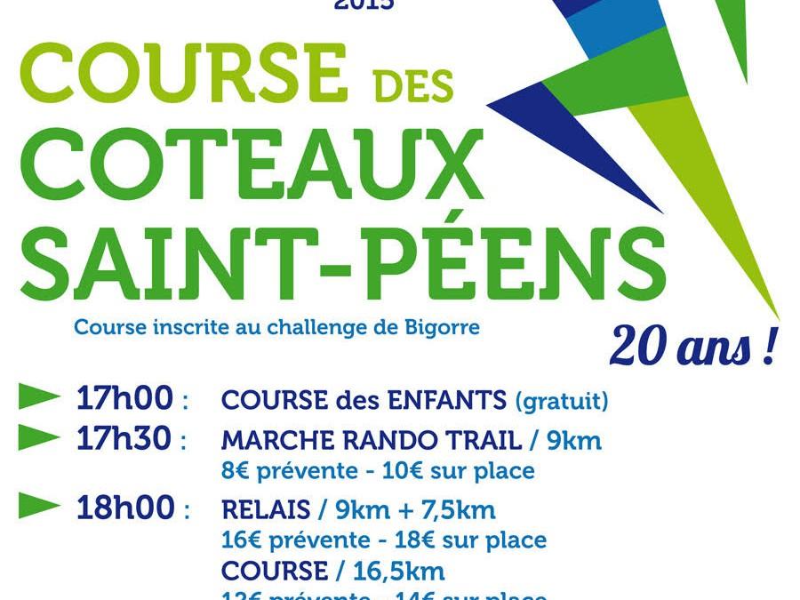 Course des côteaux St-Péens – samedi 4 juillet