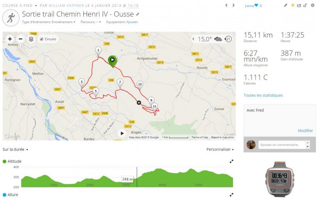Sortie club/trail nocturne Chemin Henri IV – lundi 13 juillet