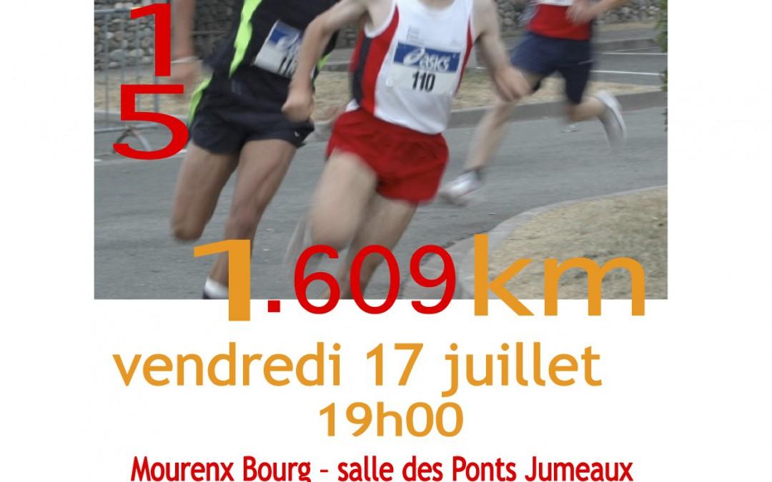 Festi-Mile Mourenx vendredi 17 juillet
