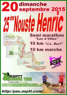 Nouste Henric – Pau – 20 septembre