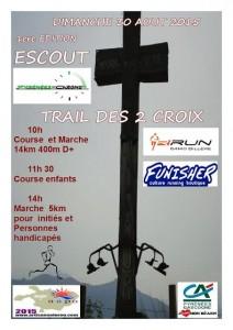 Trail des 2 Croix – Escout – 30 août