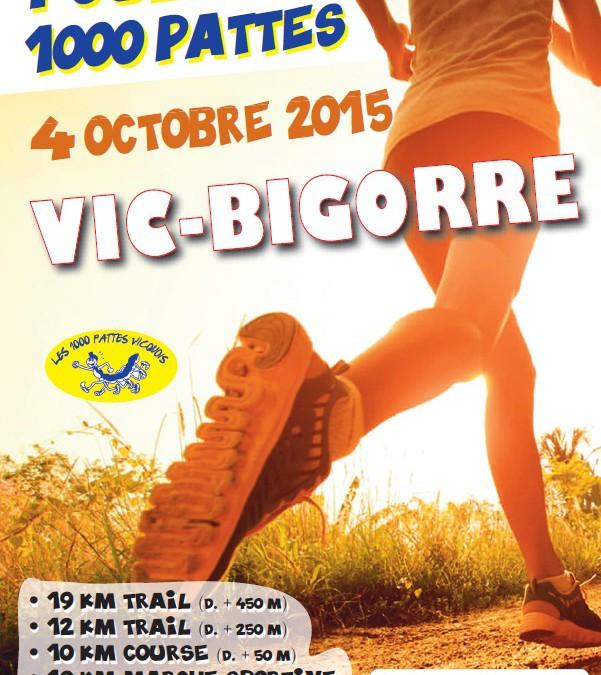 1000 Pattes Vicquois – 4 octobre – Vic-Bigorre