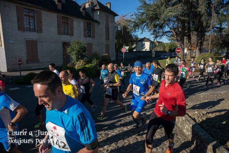 Courir à Jurançon 9.510 km + photos