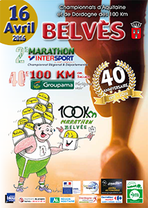 100km de Belvès
