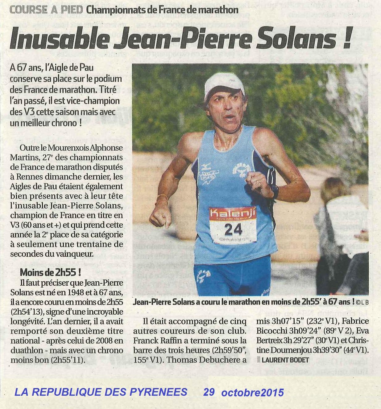 Inusable Jean-Pierre SOLANS