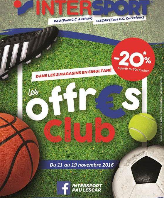 Offre Intersport Pau / Lescar