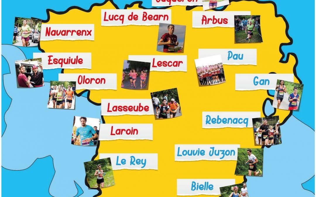 Les Equipes Aigle du tour Pédestre du Béarn 2020